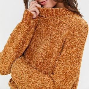 Urban Outfitters Milo Chenille Mock Neck Sweater S